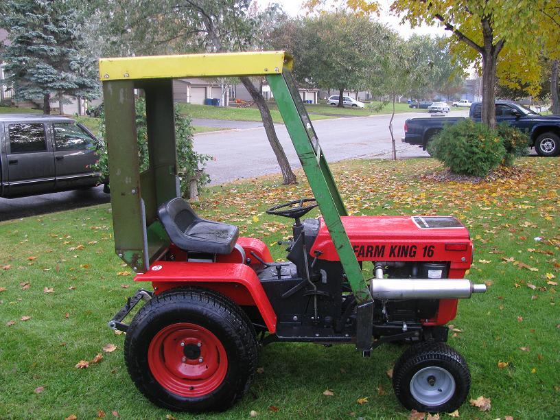 MTD 990John Deere Cab MyTractorForum The Friendliest – Garden Tractor Cab Plans