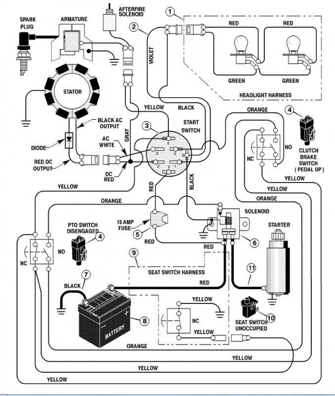 Wiring Diagram Pdf  14 Hp Kohler Mand Engine Wiring Diagram