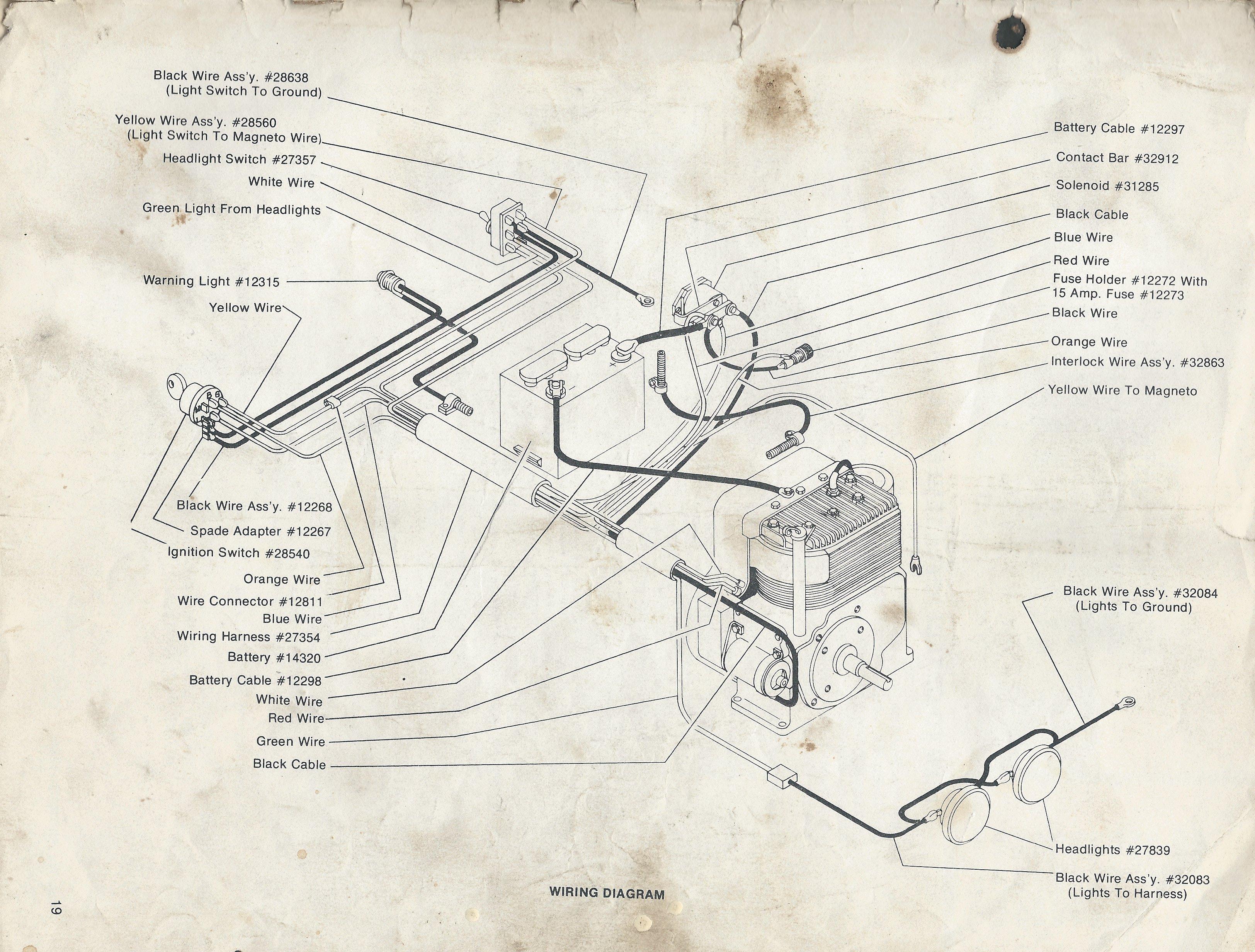 Gilson Lawn Tractor Wiring Diagram