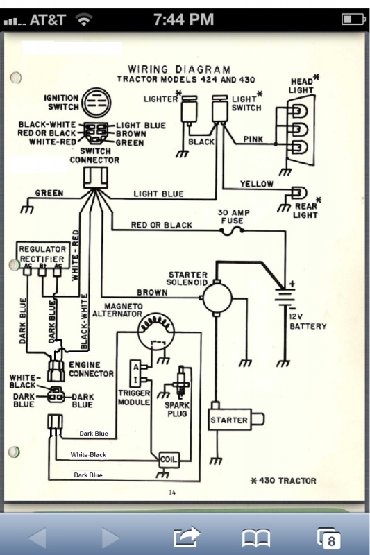 Onan NB Ignition - Prinls of Operation and Wiring ... Onan Hp Wiring Diagram on
