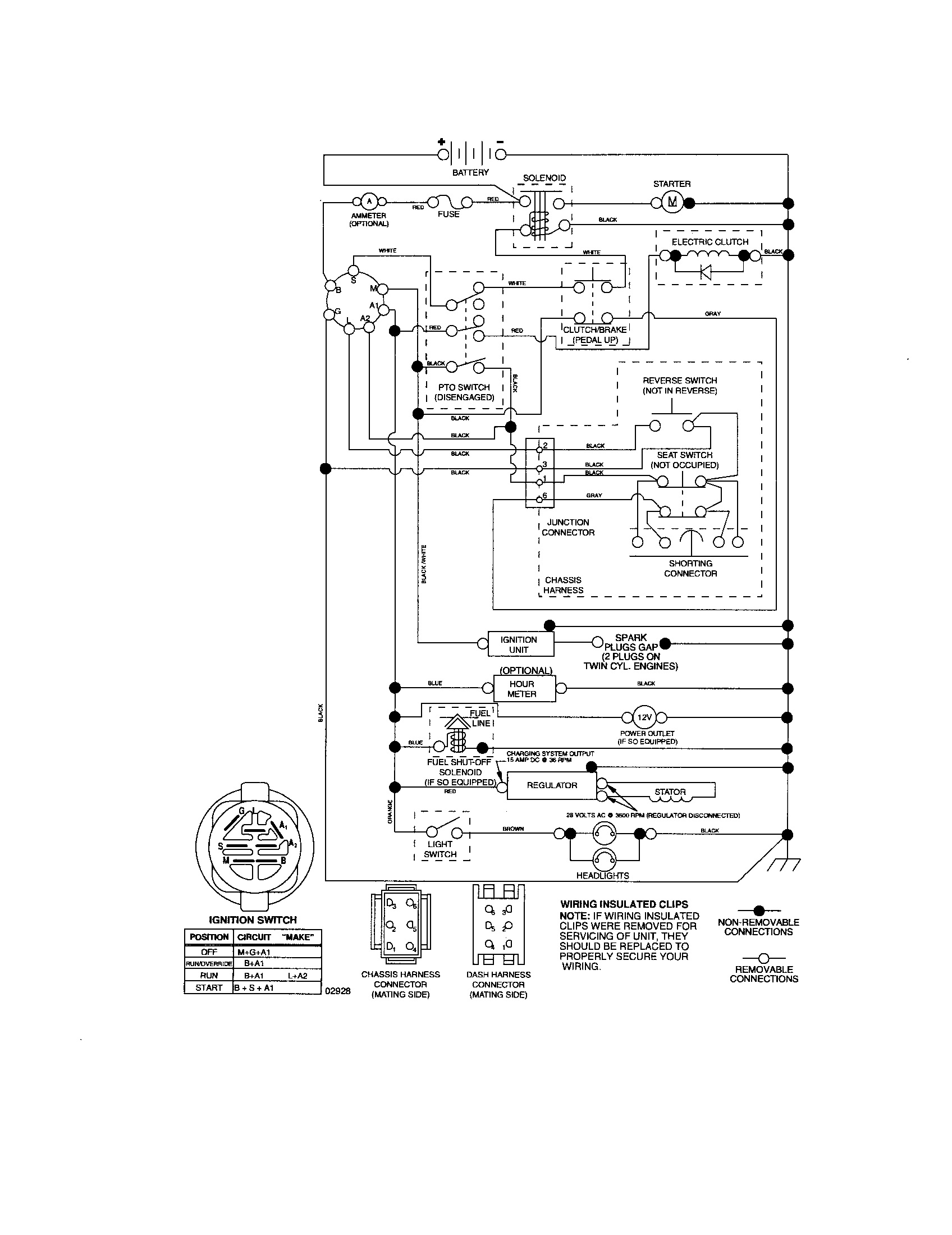 File  Wiring Diagram For Craftsman Lawn Tractor Mower Clutch