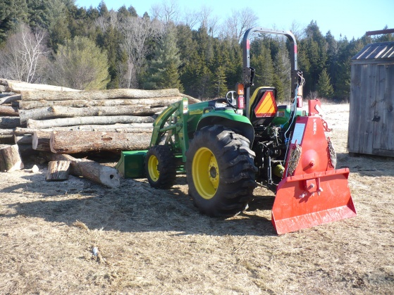 Is your 3 pt hitch logging winch too big or too small