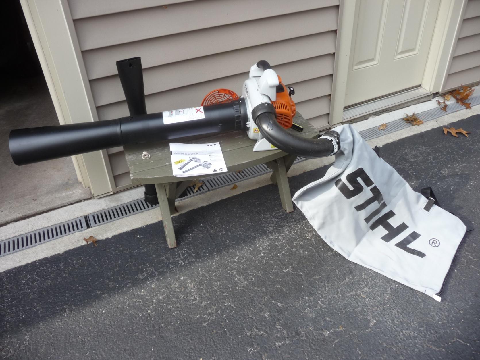 Stihl Sh 86c Shredder Blower Mytractorforum Com The