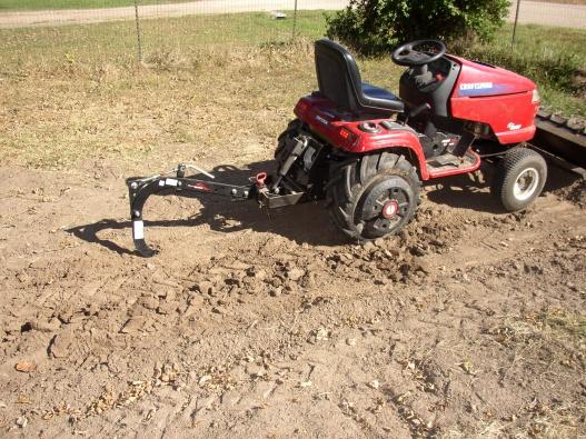 Ripping Shank on Craftsman Garden Tractor MyTractorForumcom