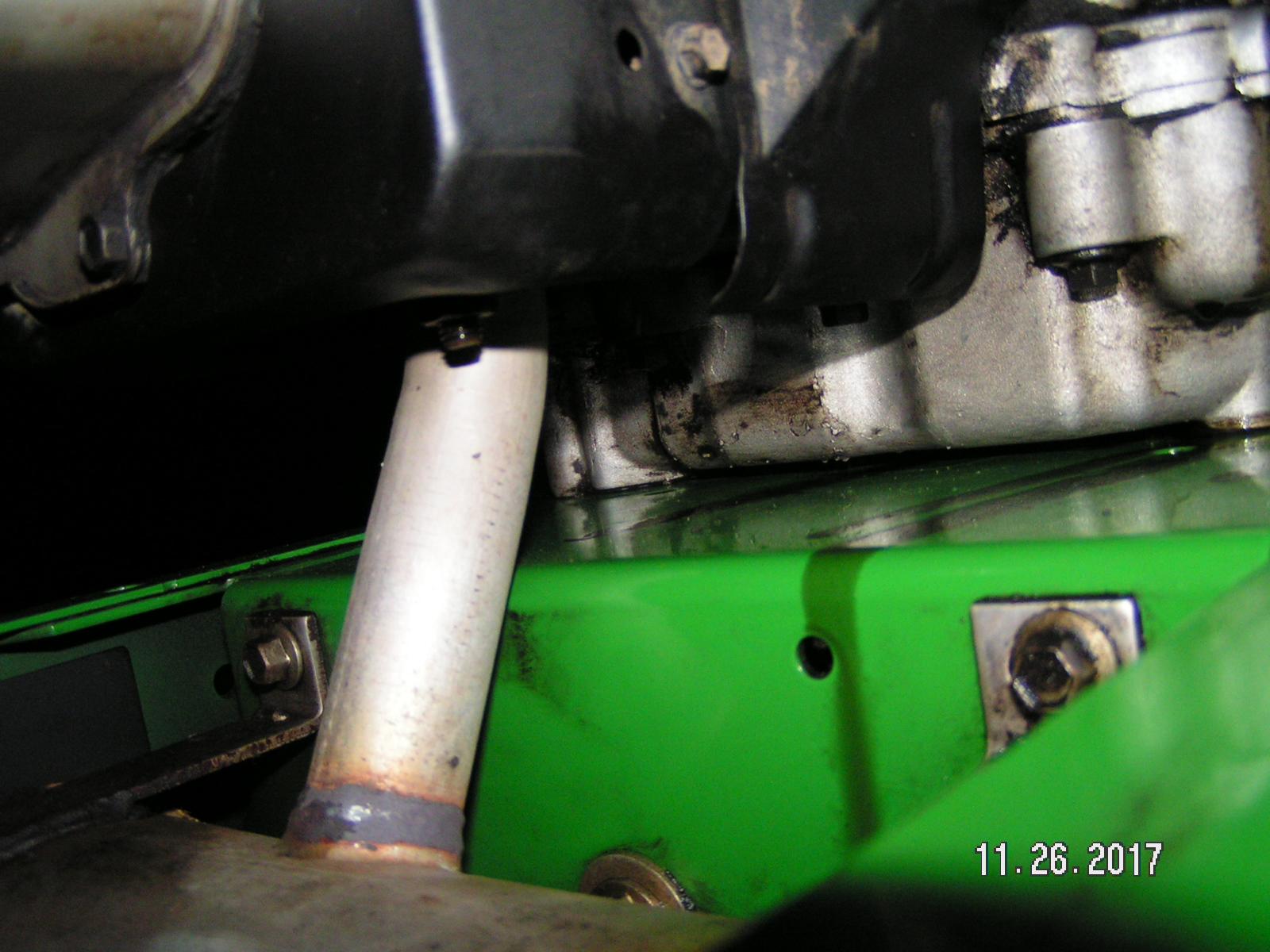 Kohler CV15S spraying oil from muffler - MyTractorForum com - The