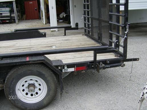 Tractor Lift Gate : Diy trailer tailgate assist do it your self