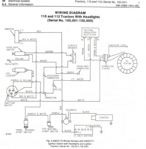 predator cc engine wiring diagram predator starting issues jd 112 mytractorforum com the friendliest on predator 420cc engine wiring diagram