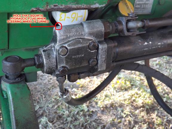 Attachment on John Deere Backhoe Hydraulics