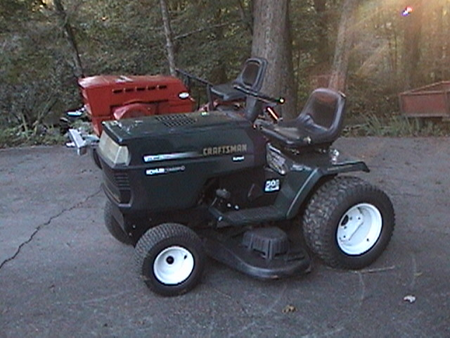 craftsman garden tractor 917273220 MyTractorForumcom The