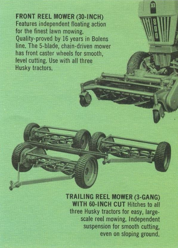 My homemade Pull behind reel mower set up - MyTractorForum com - The