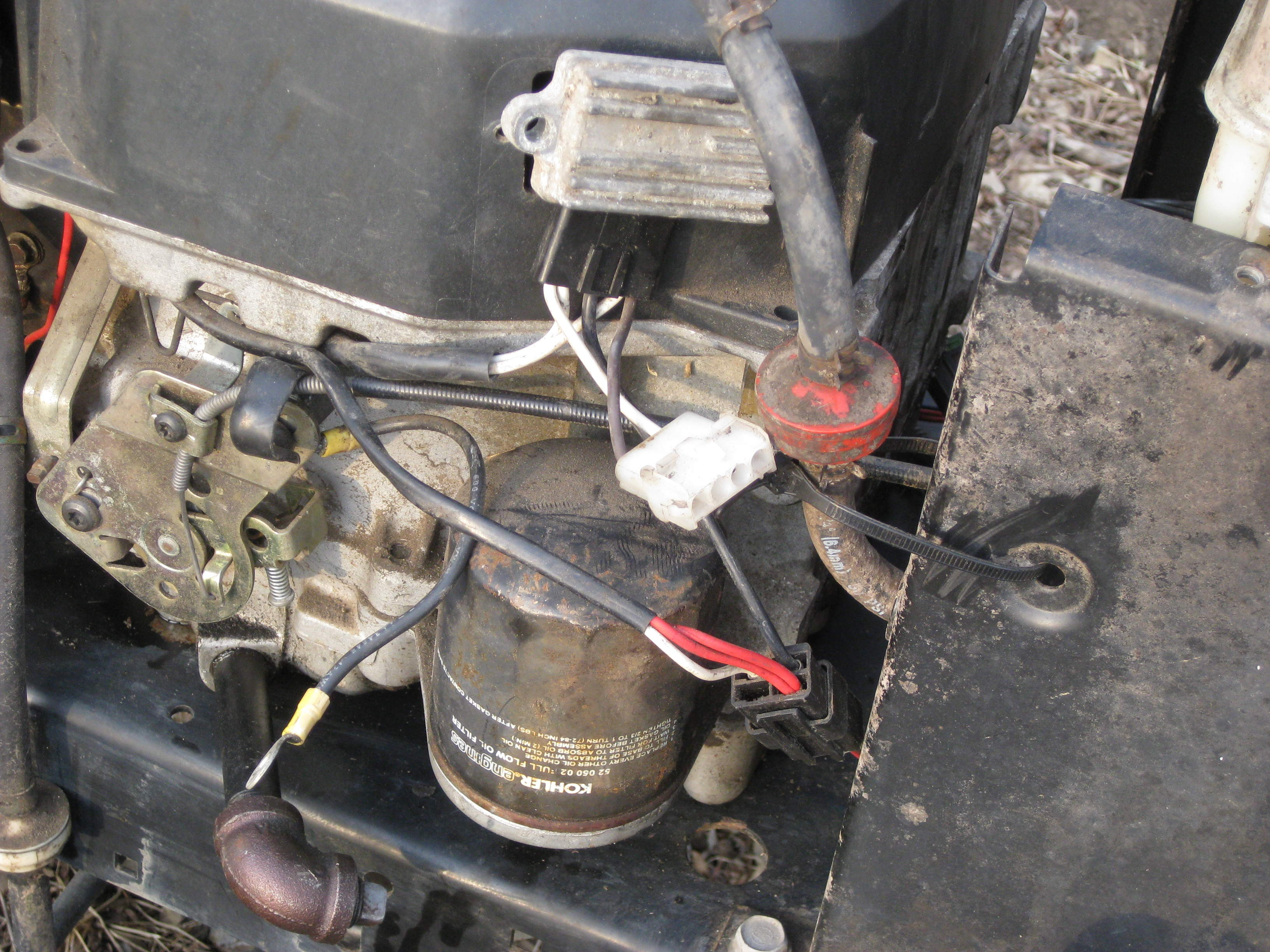 My Wife is Going to Shoot Me in the Face - MyTractorForum ...  Post Solenoid Wiring Diagram A Yard Man Lawn Tractor on