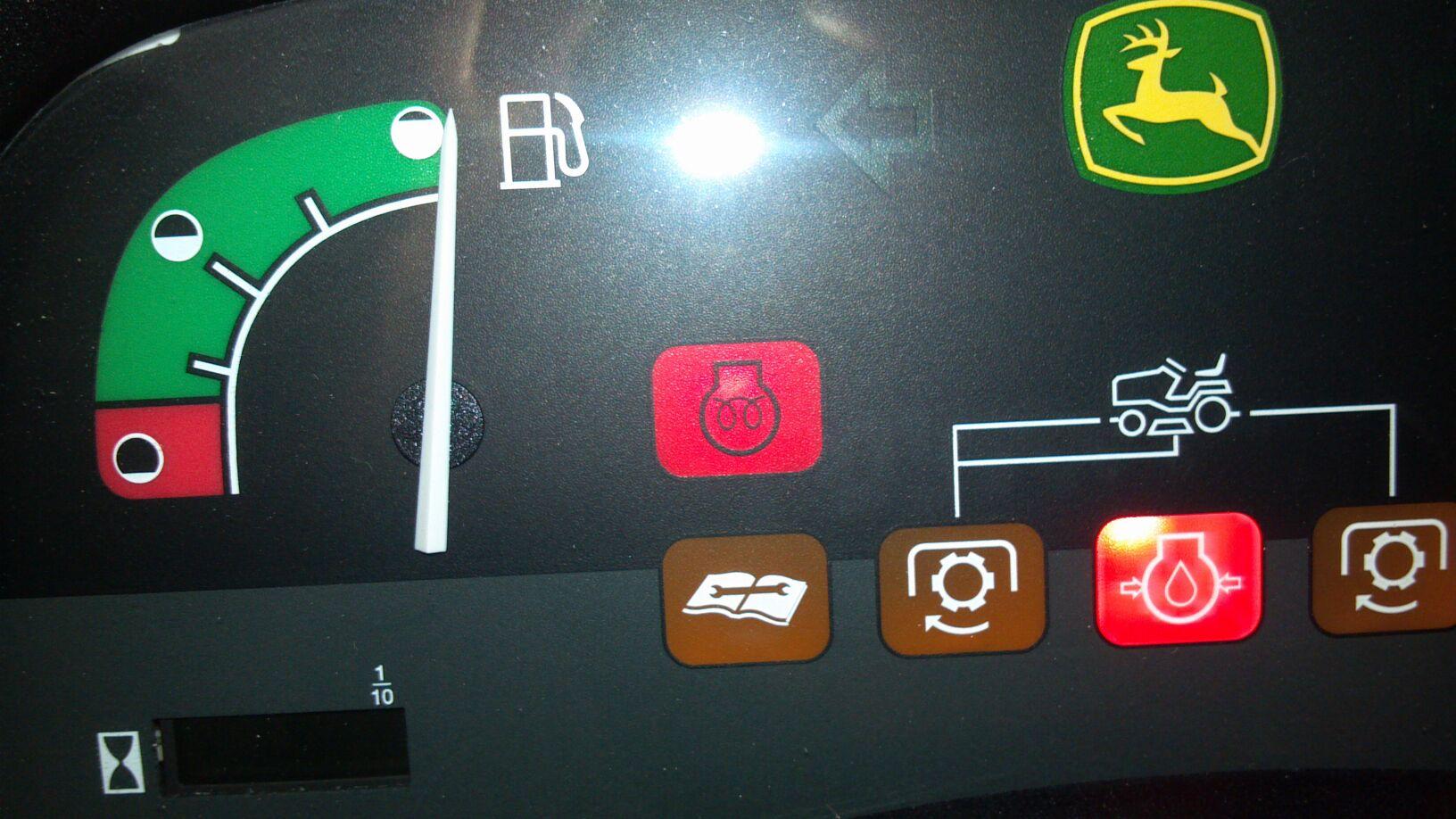 John Deere Tractor Warning Light Symbols