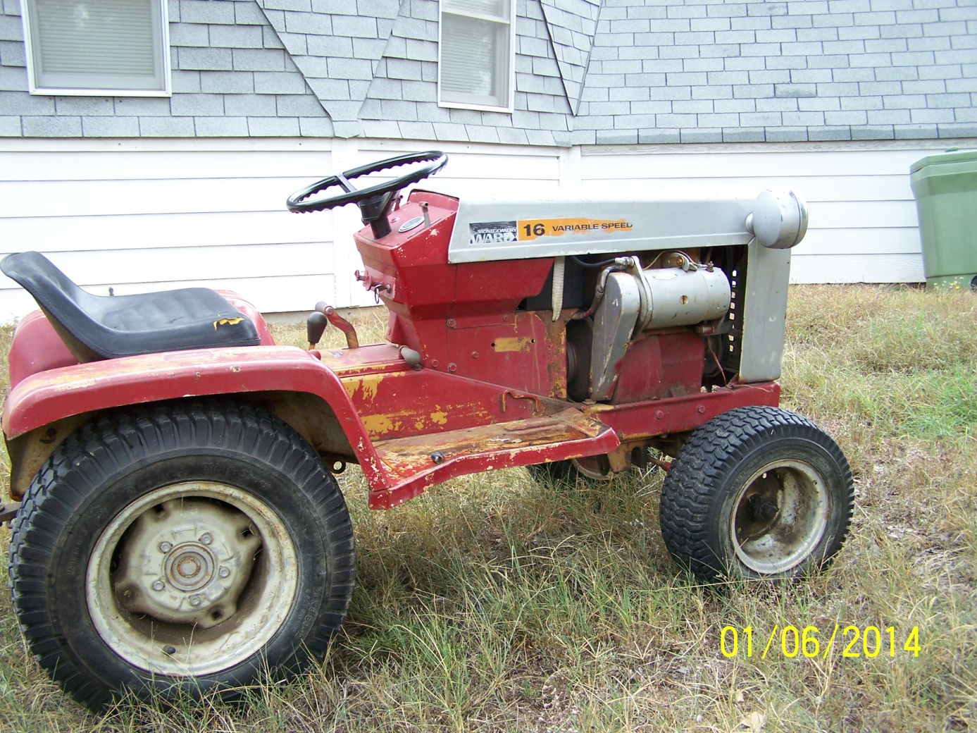 1973 Montgomery ward Gilson 16 hp variable speed   My Tractor ForumMy Tractor Forum
