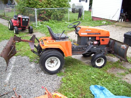 the 75 ariens S16H plow tractor MyTractorForumcom The