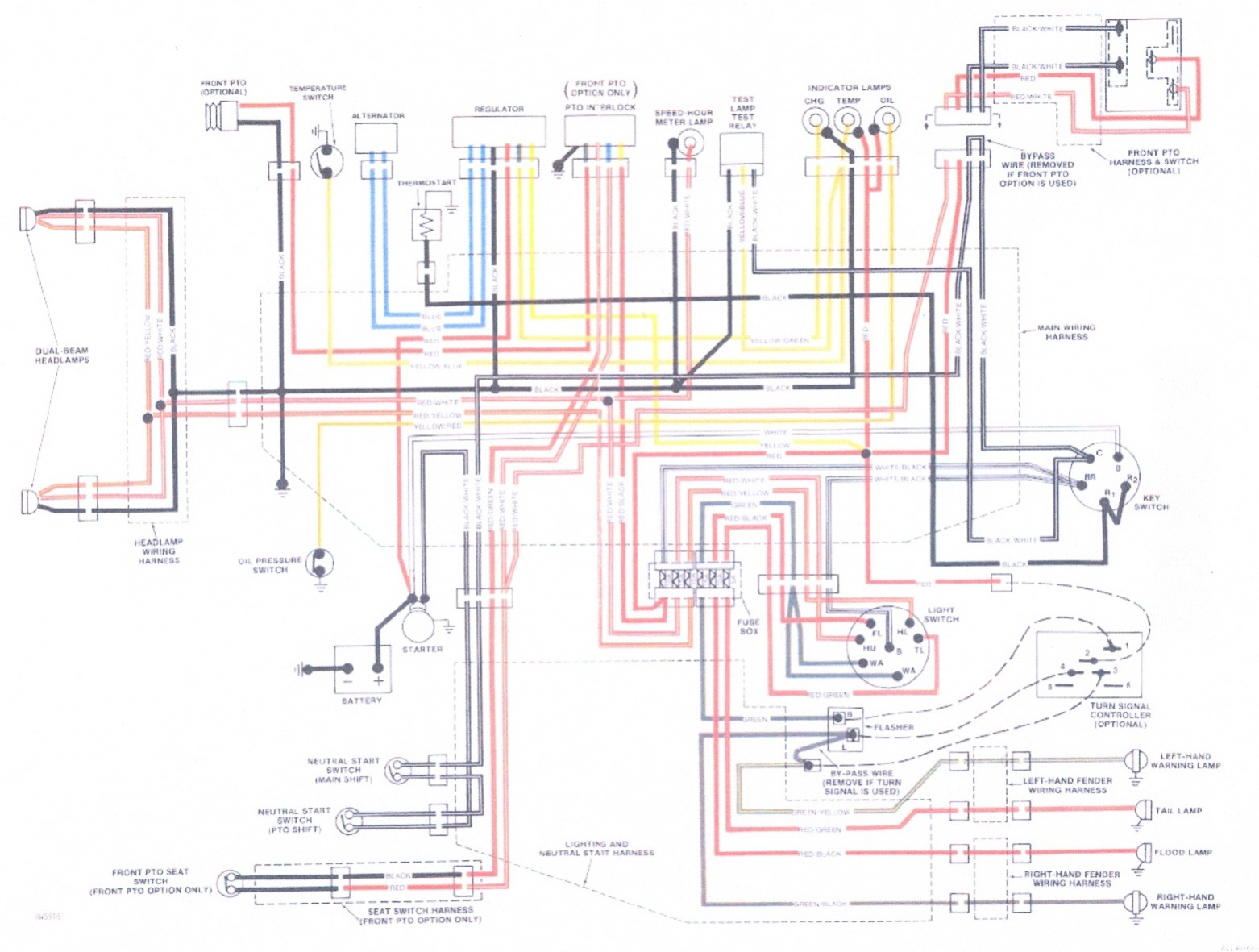 [DIAGRAM_3NM]  need a wiring color code | My Tractor Forum | John Deere Turn Signal Wiring Schematics |  | My Tractor Forum
