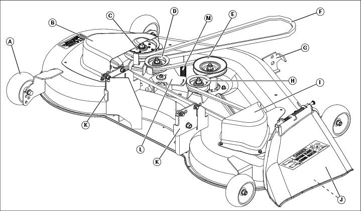 John Deere La150 Drive Belt Diagram John Deere LT155 Drive