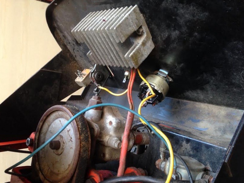 Wiring my 1974 Jim Dandy - MyTractorForum.com - The ... on