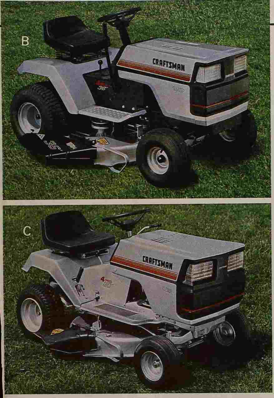 Craftsman Ii Project The Friendliest Tractor Lt4000 Wiring Diagram Click Image For Larger Version Name Sears 1985 A Views 171 Size