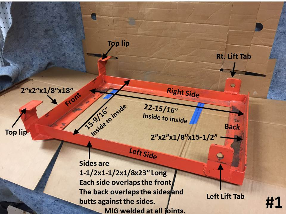 BX23 Mid-Mount Weight Tray - Page 2 - MyTractorForum com