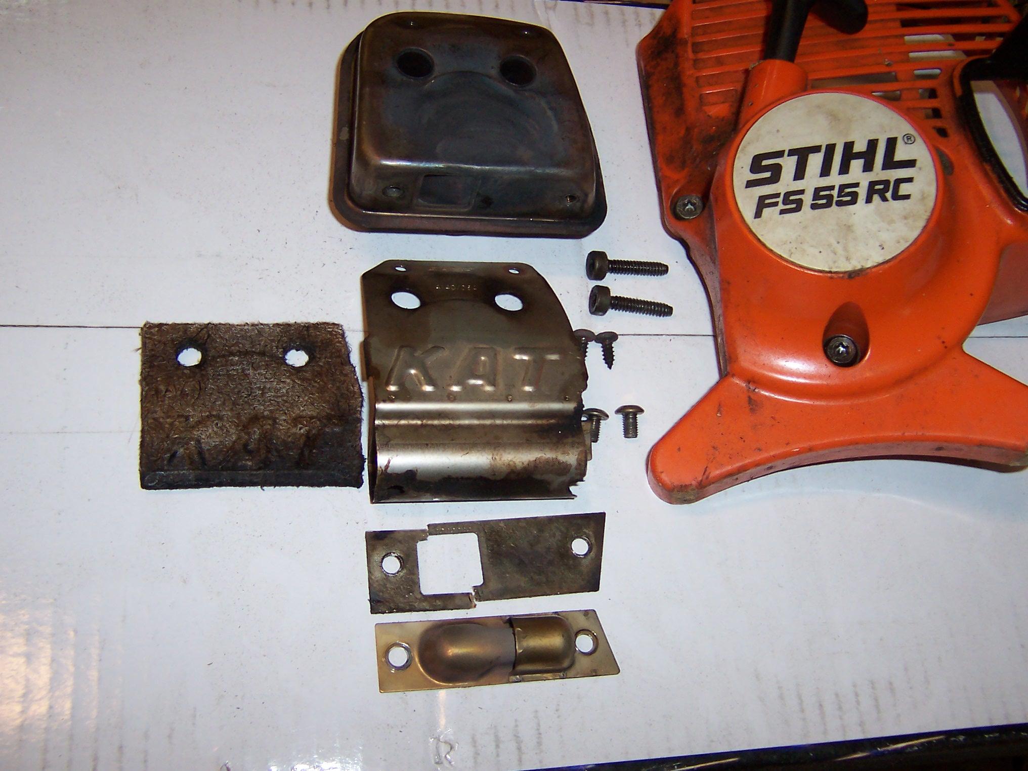 Stihl FS55RC KATT Muffler - MyTractorForum com - The