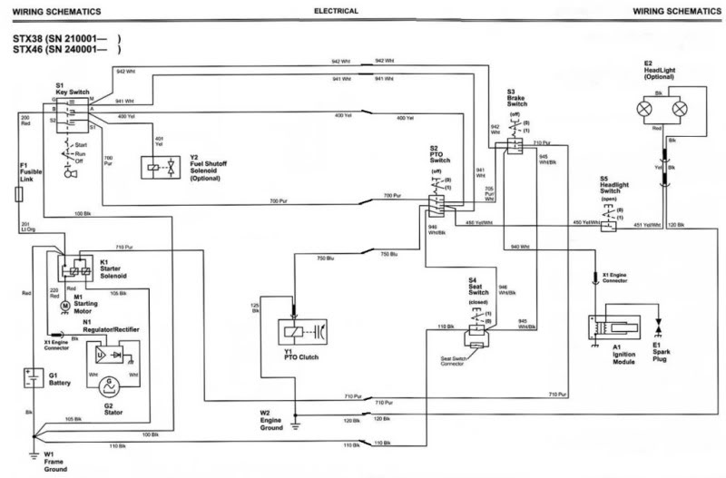 John Deere Stx 46 Wiring Schematic | Wiring Diagram on john deere tractor schematics, john deere electrical schematics, john deere tractor wiring, john deere gx345 schematic, john deere lt160 diagram, john deere 140 coil, john deere lt155 fuse, john deere lt155 manual, john deere lt155 electrical, deere lt155 harness schematic, john deere 265 schematic, john deere lt155 voltage regulator, john deere lt155 fuel pump, john deere hydraulic schematics, john deere lt155 lawn tractor, john deere ignition switch diagram, john deere lt155 hood, john deere lt150 wiring harness, john deere lt155 accessories, john deere lt155 maintenance,