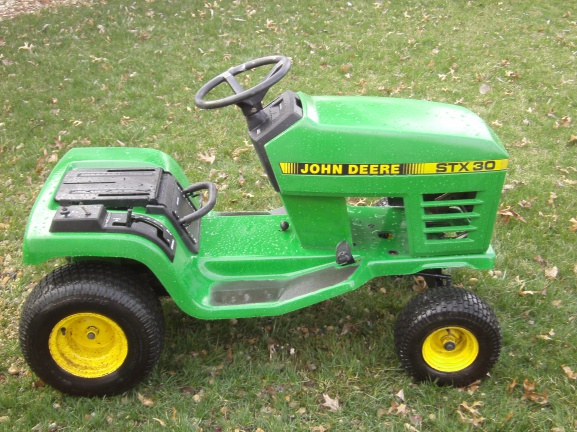 john deere stx 30 mytractorforum com the friendliest tractor click image for larger version stx30 044 jpg views 596 size