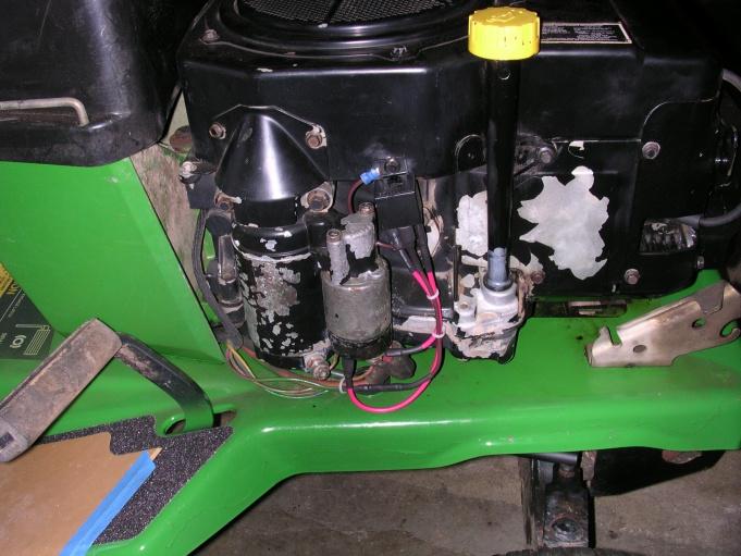 John Deere Stx38 Starter Relay