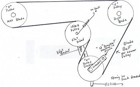 john deere stx38 belt diagram yellow deck diagram for you