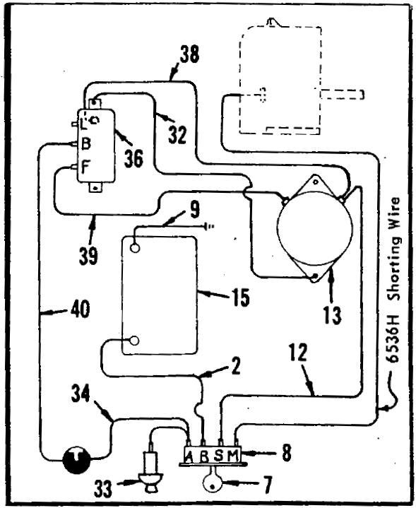 1970 sears suburban voltage regulator wiring