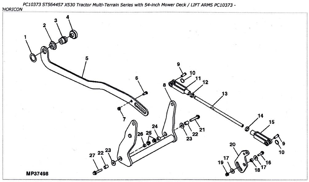 Wiring Diagram: 33 John Deere 44 Snowblower Parts Diagram
