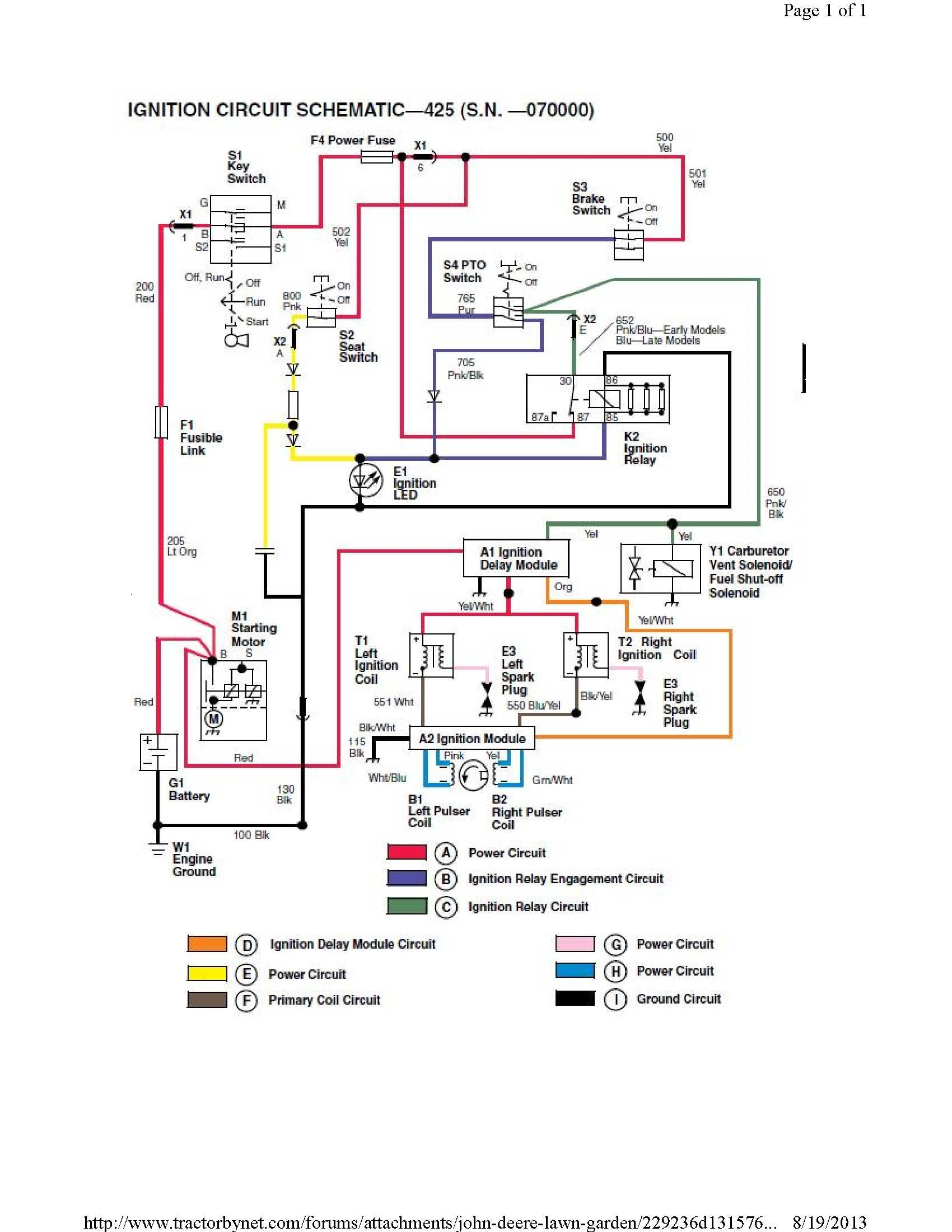 John Deere Backhoe Wiring Diagram