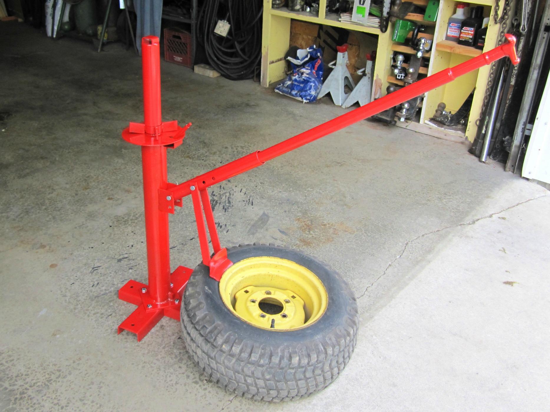 harbor freight tire changer - MyTractorForum.com - The Friendliest ...