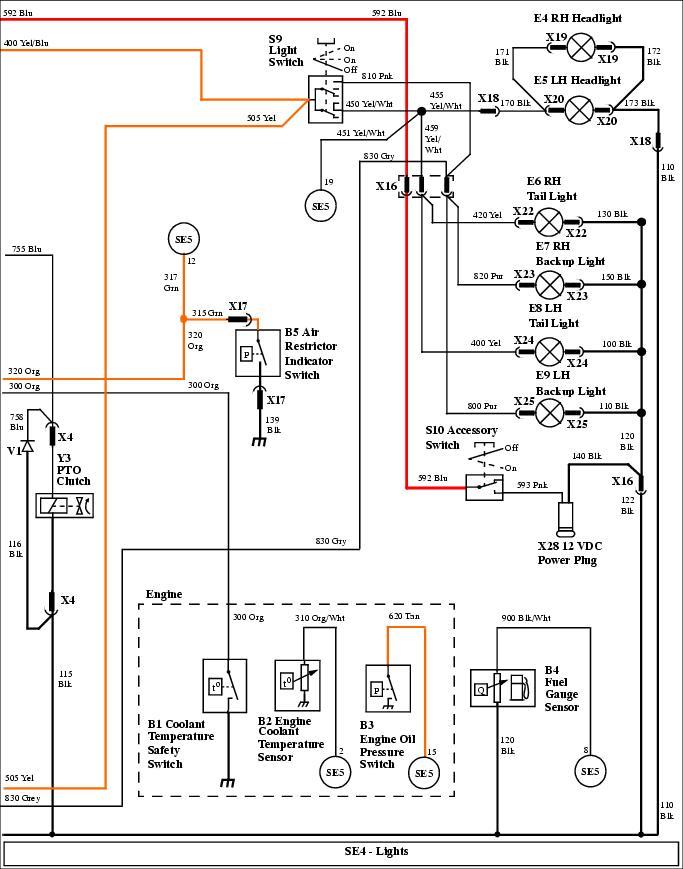 X595 electrical Problem - MyTractorForum.com - The Friendliest ... on