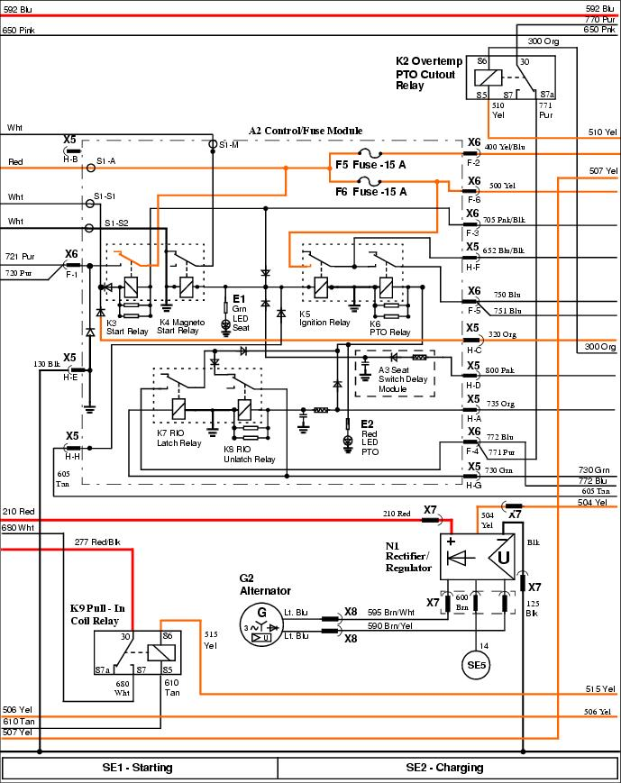 X595 electrical Problem - MyTractorForum.com - The ... on