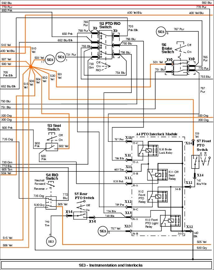 john deere 200 wiring diagram x595 electrical problem my tractor forum  x595 electrical problem my tractor forum