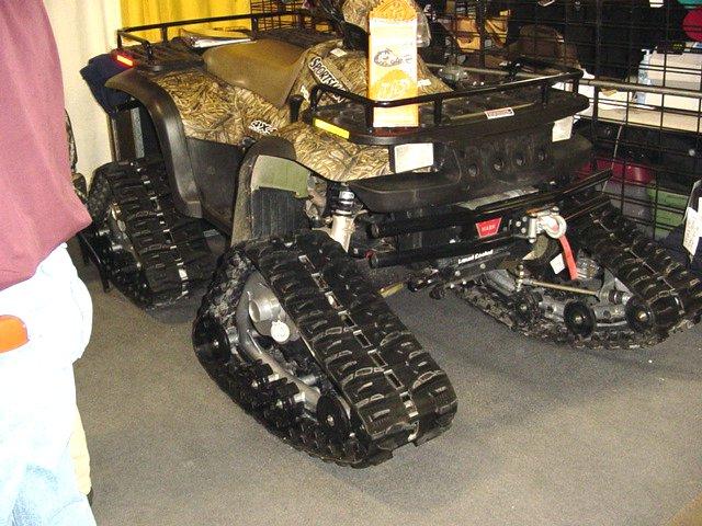 homeade atv tracks?   My Tractor Forum