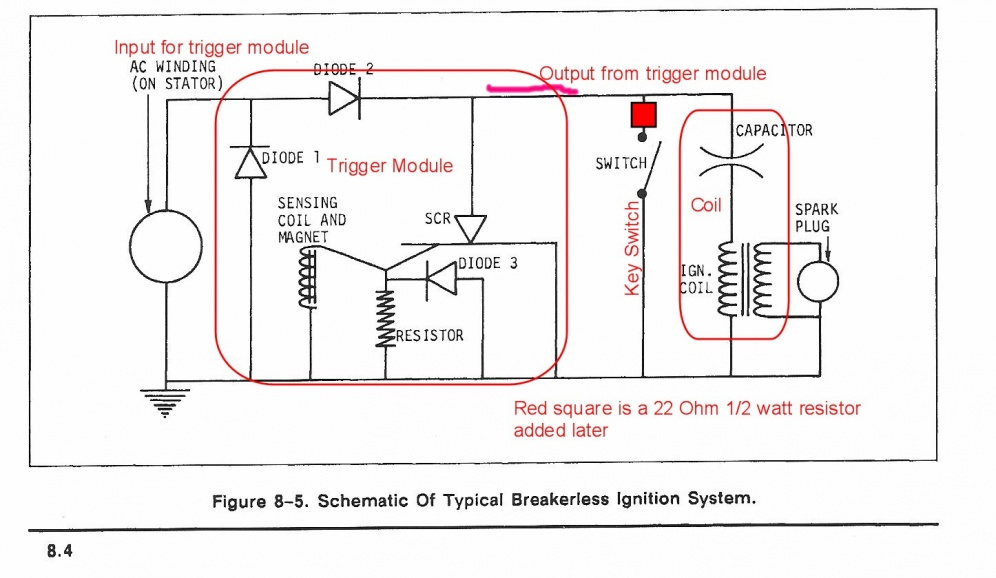 gravely 816s wiring diagram gravely database wiring diagram 69 commercial 12 ignition coil question mytractorforum com the source · diagram