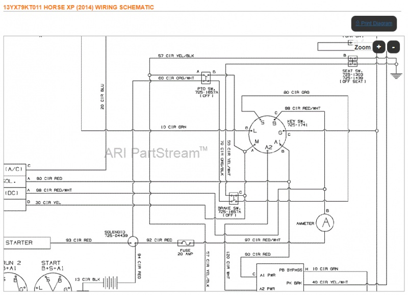 Wiring Diagram For Troy Bilt Riding Mower from www.mytractorforum.com
