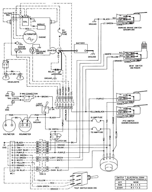 wheel horse c160 wiring diagram