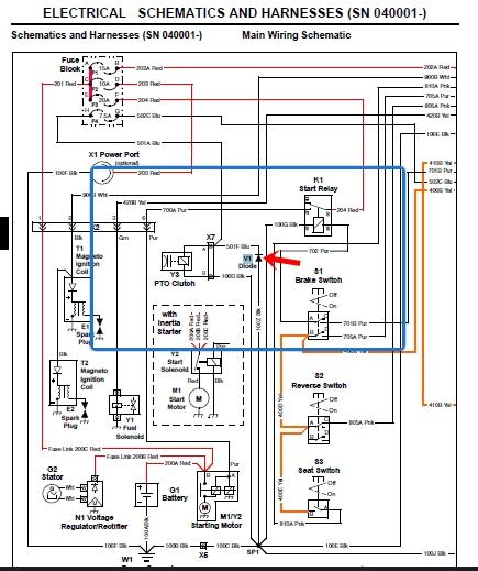 Deere X300 Wiring Diagram - Spark Plug Wire Diagram 2004 for Wiring Diagram  Schematics | X300 Wiring Diagram |  | Wiring Diagram Schematics