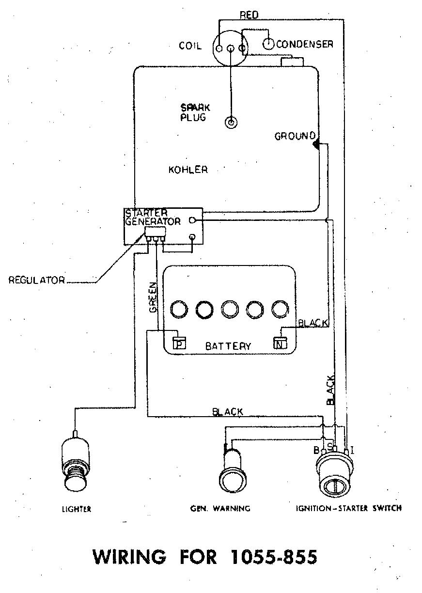 Wheel Horse Wiring Diagram 1989 Whelen Switch Box 6 1996 Sundowner Trailer Kohler K241 On A Wh 1055looking For Parts Mytractorforumcom Attachment 61684 1055 Looking Partshtml