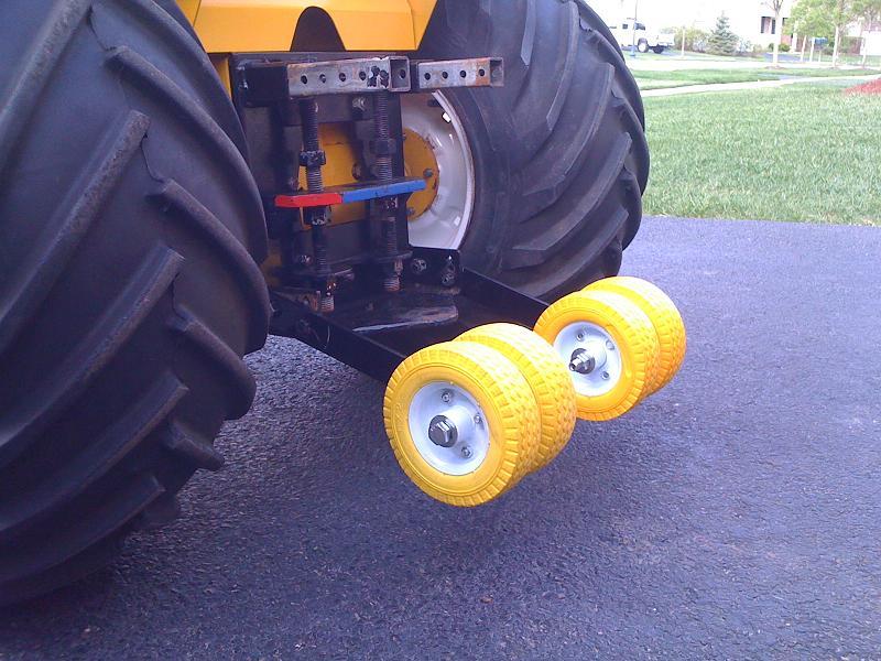 Wheelie bar and adjustable hitch - MyTractorForum com - The