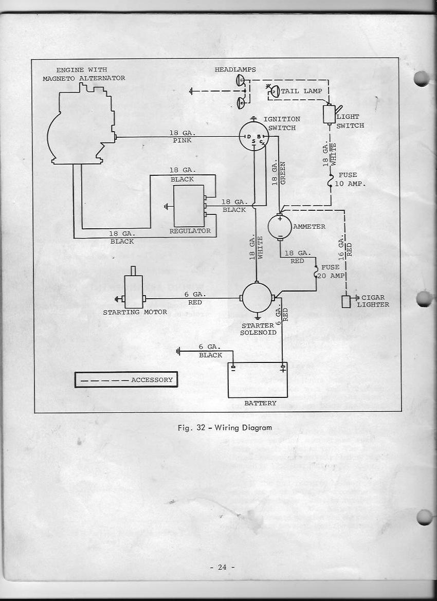 wire diagram mf 12 1973 mytractorforum com the friendliest report this image