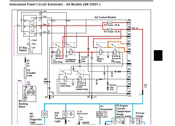x485 light issues | My Tractor Forum | X485 John Deere Wiring Diagram |  | My Tractor Forum