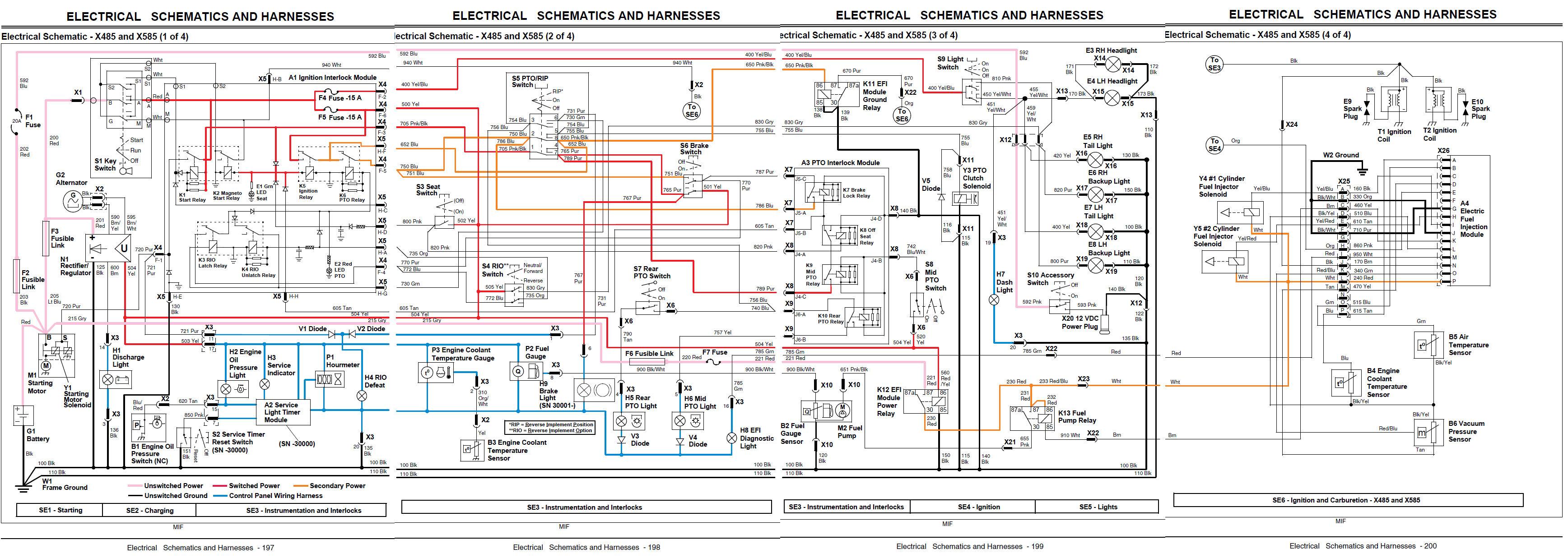 X485 Possible Overheating? Need Help | Page 2 | My Tractor Forum | X485 John Deere Wiring Diagram |  | My Tractor Forum