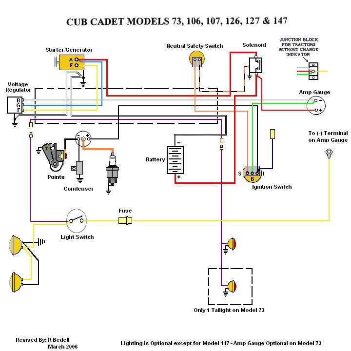 Cub Cadet    107       Wiring       diagram     MyTractorForum  The