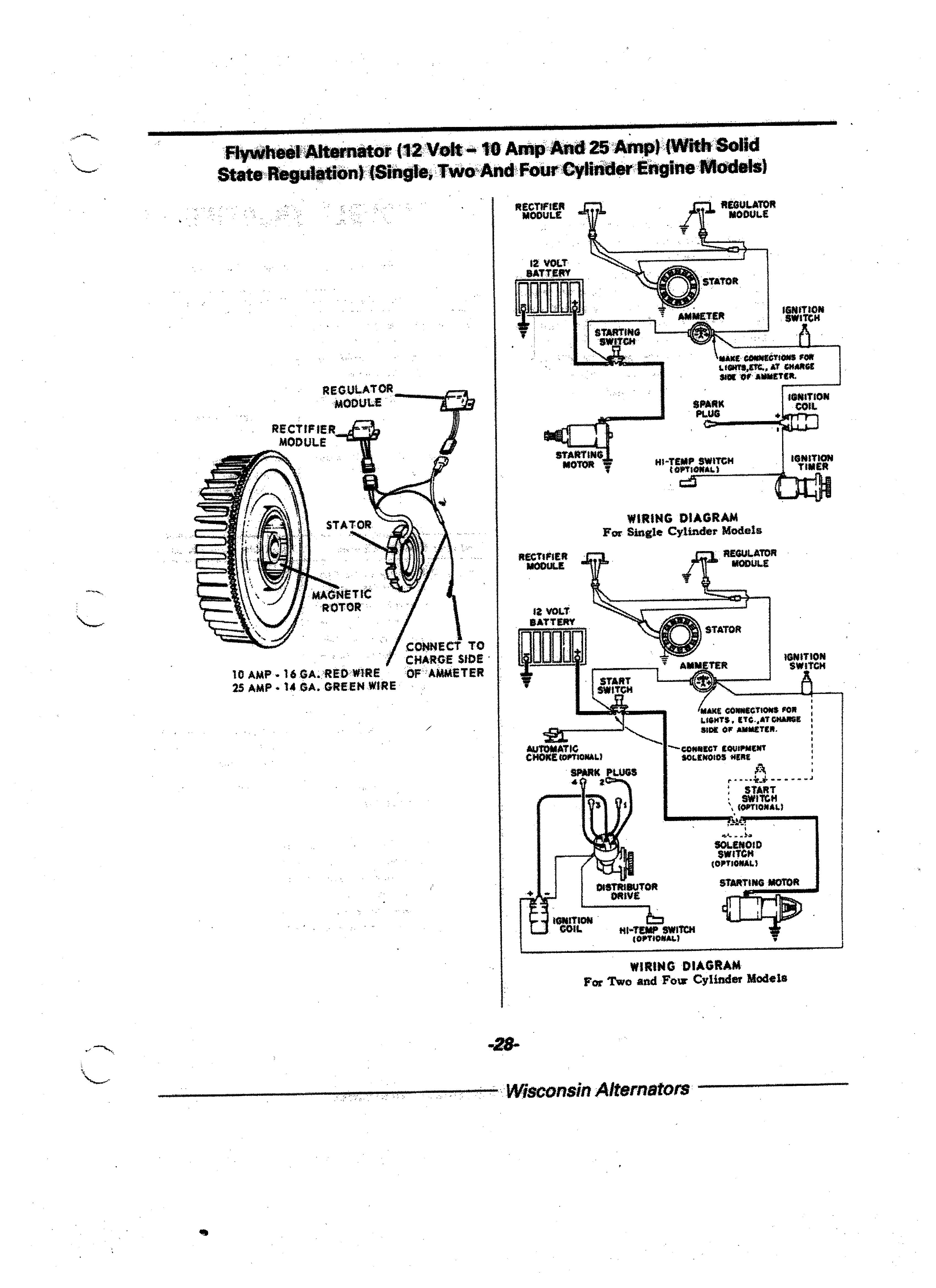 Wisconsin V4 Engine Diagram