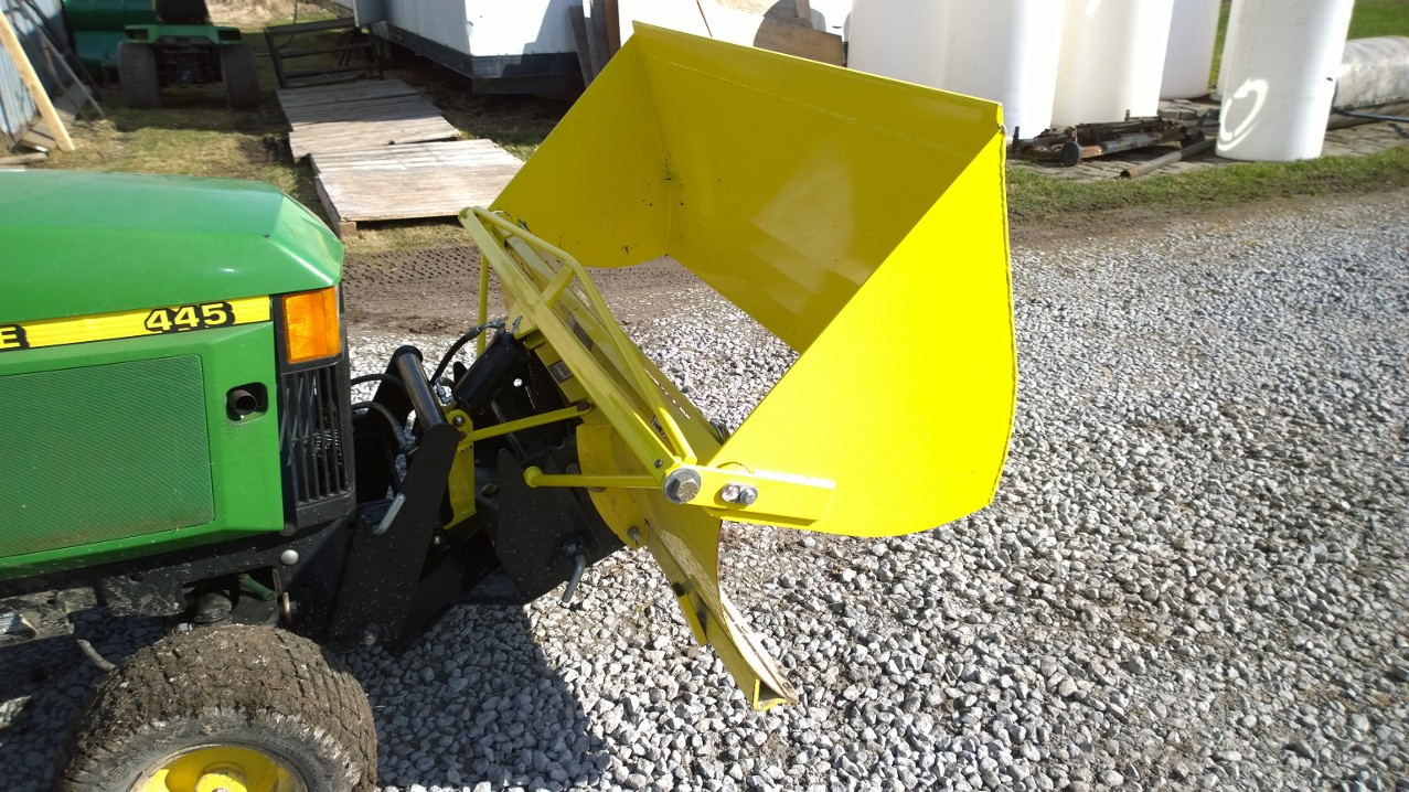 John Deere X300 Snow Blower Attachment as well Showthread moreover Wiring Diagram For John Deere 5105 Tractor together with P 9895 John Deere 47 Quick Hitch Snow Blower as well John Deere 425 Lawn Mower. on john deere 455 snow blade