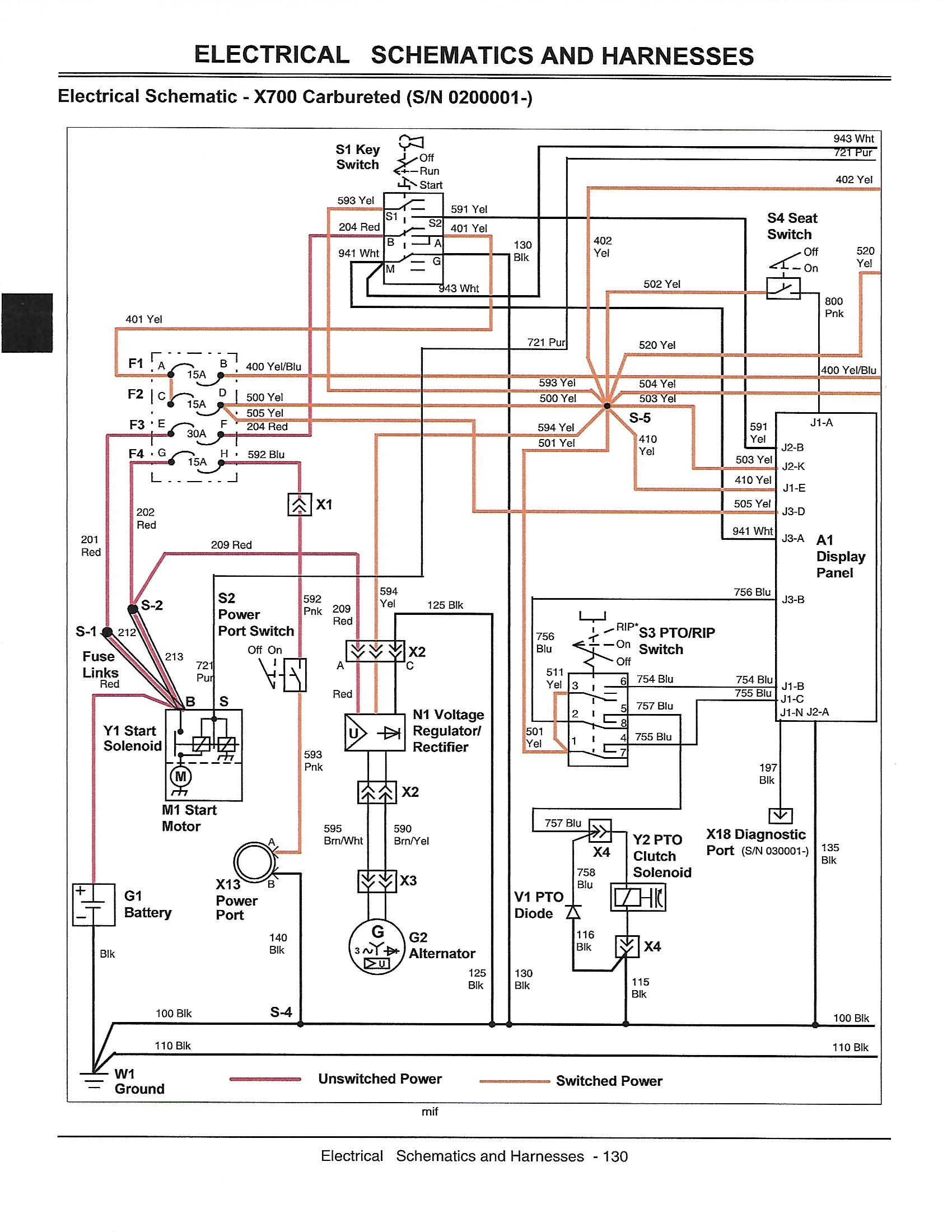 X700 electrical issues - Page 2 - MyTractorForum.com - The ... on