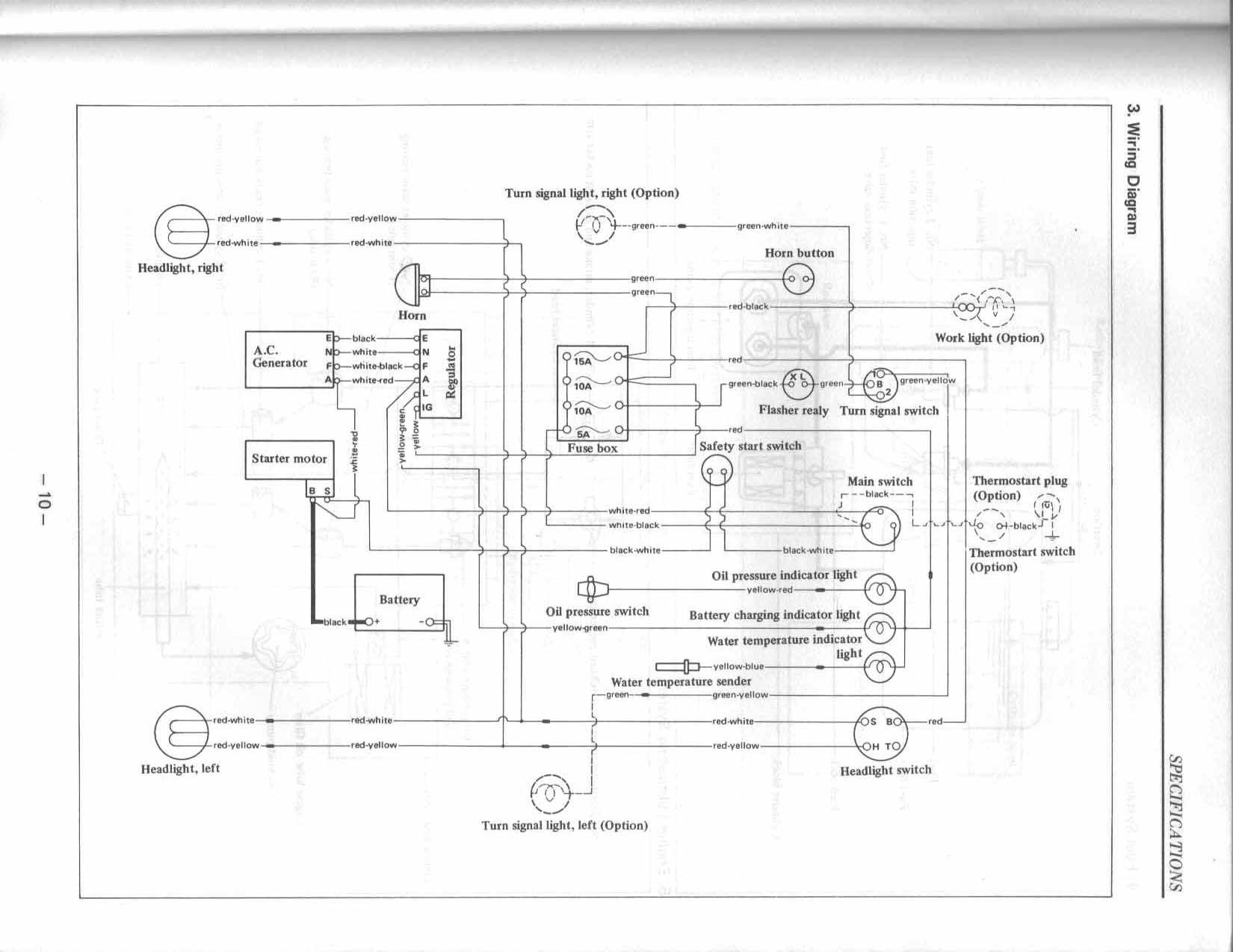 Kubota G5200 Wiring Diagram Kubota B2100 Wiring Diagram Kubota – Kubota G1800 Wiring-diagram